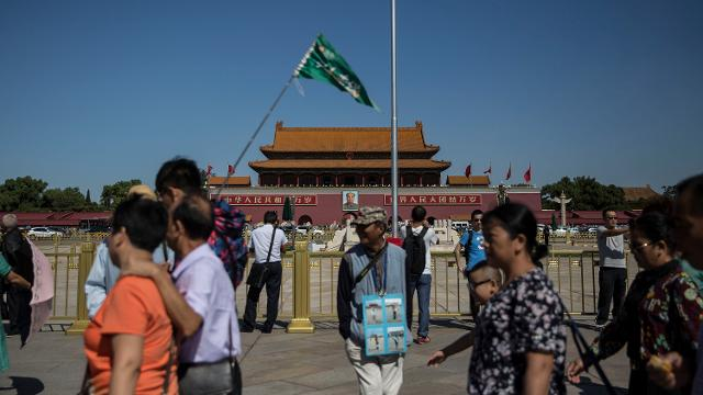 Tiananmen Square: the gate of heavenly peace