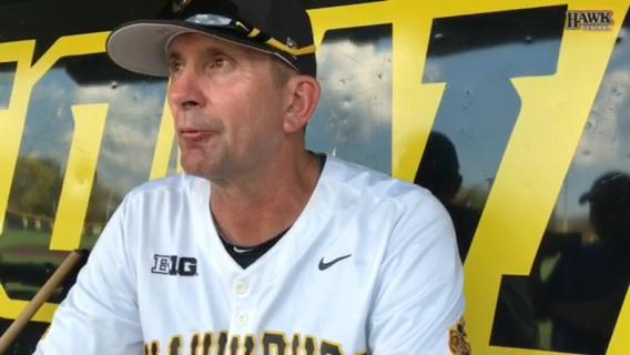 Rick Heller updates Iowa baseball after Hawkeyes' fall scrimmage