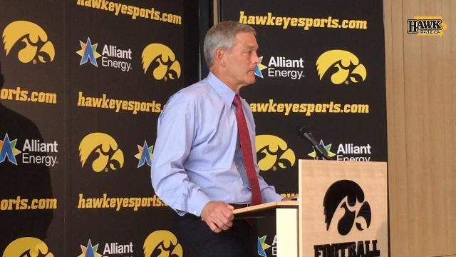 Ferentz: If you want to make a stand, get up and do something