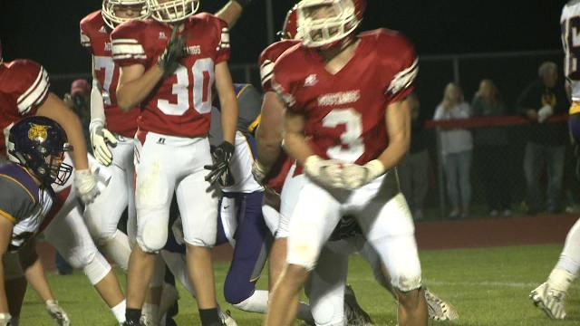 WHO Highlights: Dallas Center-Grimes beats Webster City, 20-0