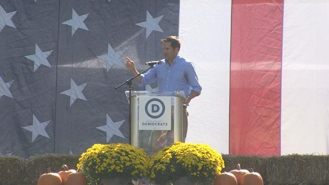 U.S. Rep. Cheri Bustos (D-IL), U.S. Rep. Seth Moulton (D-MA) and U.S. Rep. Tim Ryan (D-OH) brought their messages to Des Moines for the return of the Polk County Steak Fry.