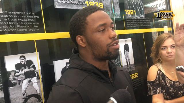 Akrum Wadley frustrated by Michigan State loss