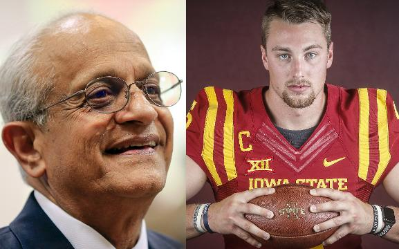 Joel Lanning for ISU President? One finalist thinks he can do it.