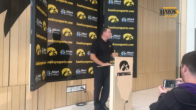 Brian Ferentz likes what he's seen from Nate Stanley
