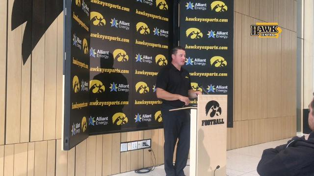 Brian Ferentz on the impact of James Butler's injury