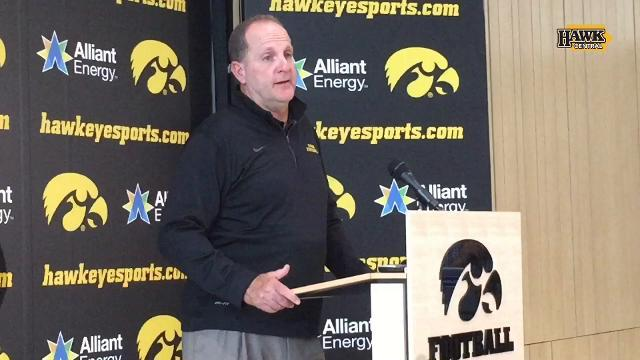 Phil Parker talks Amani Hooker, Hawkeye pass rush