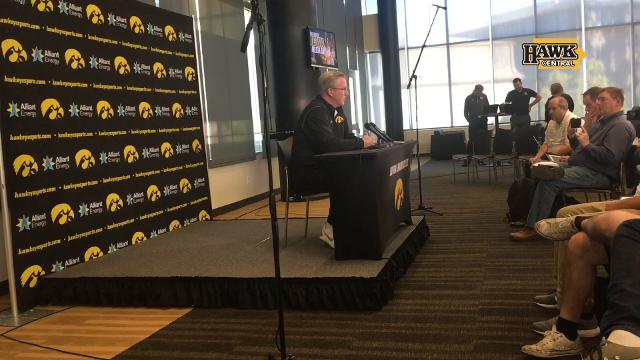 McCaffery: 'I've turned programs in'