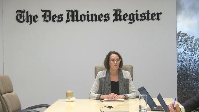 Connie Boesen, candidate for Des Moines City Council, talks about what city needs she would like to address if elected to the at-large seat.