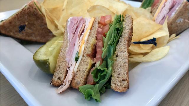 There's a new sandwich shop in town, Des Moines. And this one is known for its perfected club sandwich recipes. People from the south or who attended college in the Southern states will recognize this place for its overstuffed potatoes, soups, salads and giant cookies along with its wide array of classic and unique sandwiches and wraps.