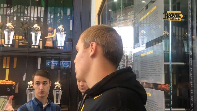 What did Iowa coaches ask Nate Stanley to work on?
