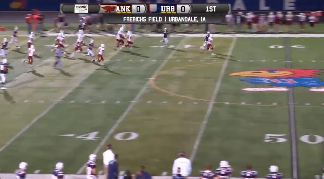 Watch Urbandale's Henry Drake score a 76-yard touchdown