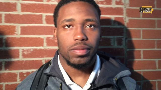 Akrum Wadley has little to say after Iowa's loss