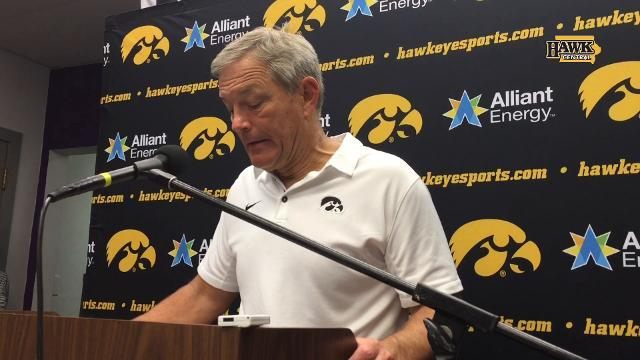 Kirk Ferentz on Iowa's run-game struggles: 'I don't know'