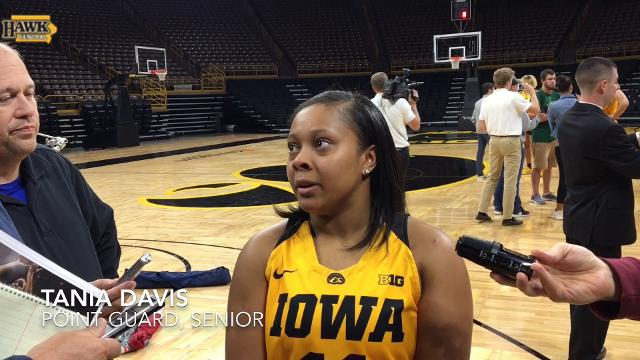 Tania Davis discusses speedy rehab from torn ACL