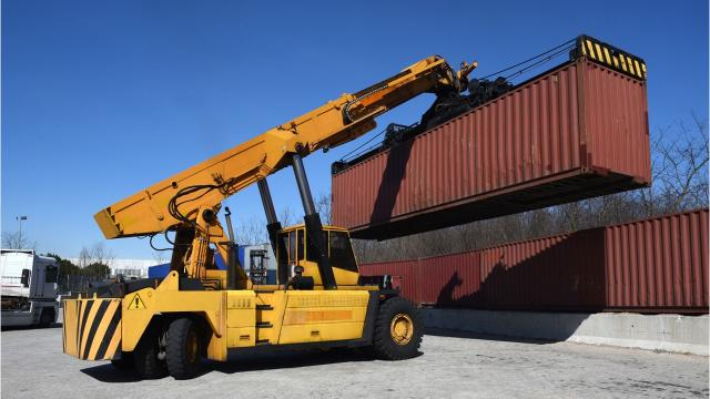 What is a transload facility?