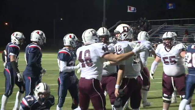 Watch highlights as the Maroons defeat the J-Hawks 45-3 in Urbandale.