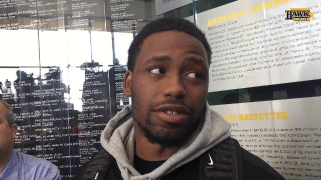 Akrum Wadley's view on Ohio State
