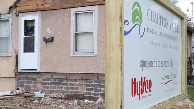 Grocery store chain Hy-Vee is investing in the Chariton housing market. Partnering with a local housing trust, Hy-Vee has begun renovating homes to help lure job seekers to the town.