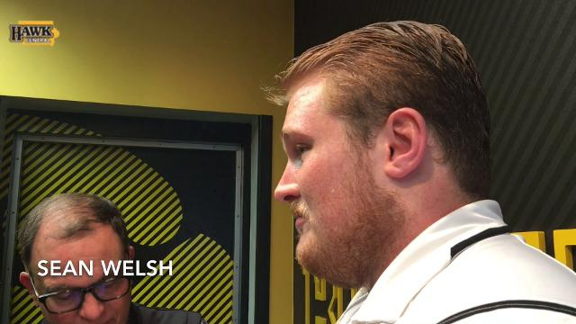 Sean Welsh on Nate Stanley's night: 'It really doesn't surprise me'