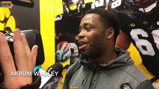 Akrum Wadley reacts to huge win over Ohio State