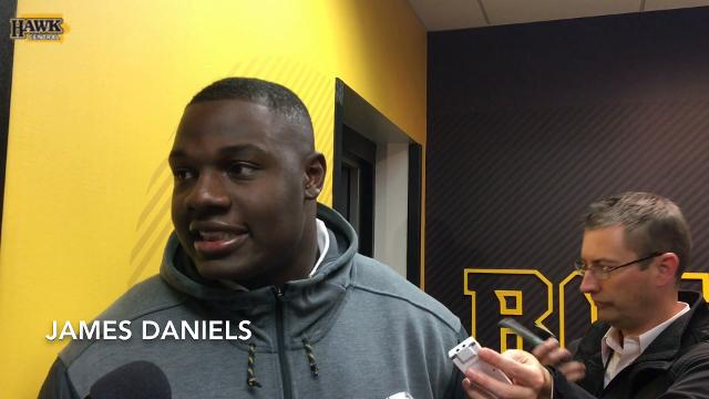 Ohio native James Daniels thrilled after trouncing the Buckeyes