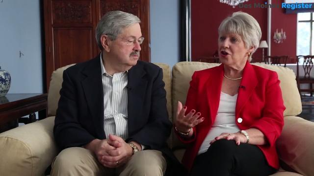 Terry Branstad and has family moved to Beijing, China this summer at Iowa former governor was appointed U.S. Ambassador to China. Hear what they have to say about their new life halfway across the world.