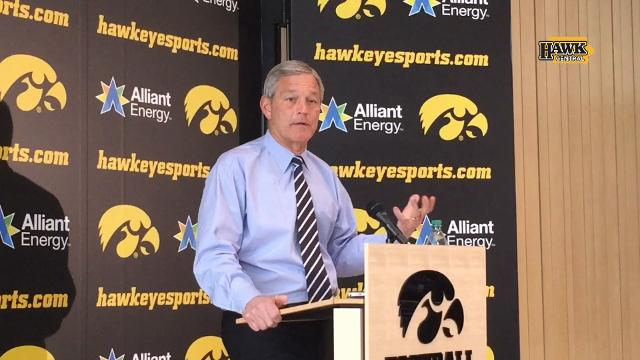 Kirk Ferentz: We were conservative with Brandon Snyder