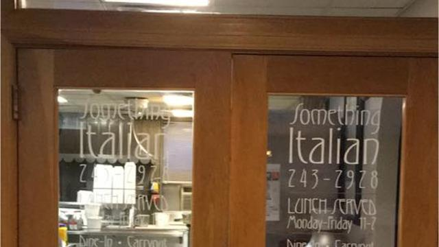 Popular downtown skywalk lunch spot Something Italian will remain open during construction that limits access to the restaurant. Owner Louie Baratta previously considered closing temporarily.