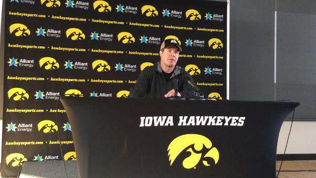 Iowa wrestling coach Tom Brands discusses the upcoming 2017-18 season.