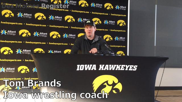 Iowa wrestling coach Tom Brands explains what he learned from his team during wrestle-offs last weekend.