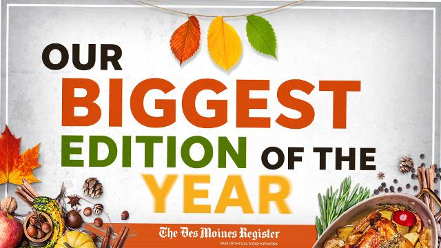 Pick up the biggest edition of the year a day early at Hy-Vee.