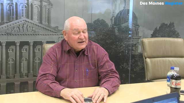 U.S. Secretary of Agriculture Sonny Perdue talks about the renegotiating of NAFTA, and explains his comments about a possible contingency plan if there was a withdrawal from the agreement.