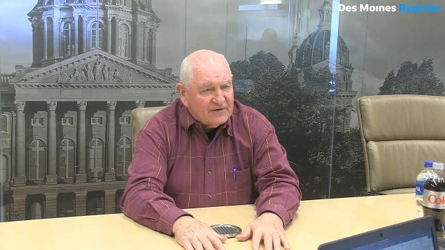 U.S. Secretary of Agriculture Sonny Perdue talks about the delay in Iowa Ag. Secretary Bill Northey's confirmation to an administrative role in the U.S. Department of Agriculture.