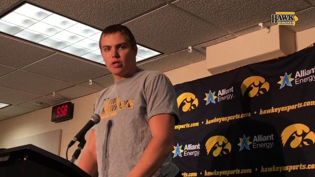 Nate Stanley speaks after rough day at Wisconsin