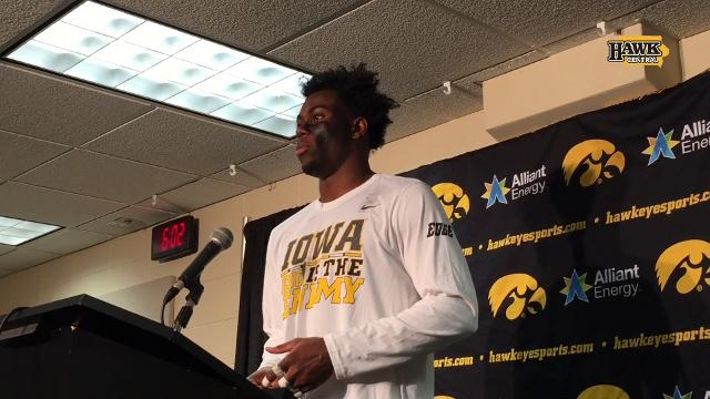 The Iowa cornerback is playing at an all-American level. Josh Jackson leads the nation with 5 interceptions.