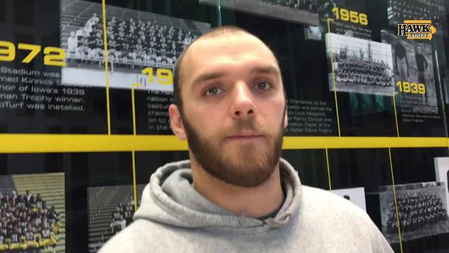 Iowa LB Bo Bower discusses his relationship with Josey Jewell.