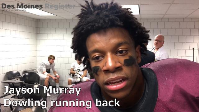 Running back Jayson Murray recounts his stellar rushing performance.
