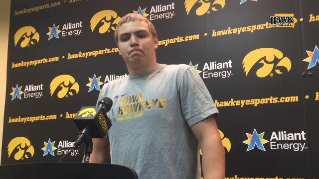 Iowa quarterback Nate Stanley searches for answers after a 24-15 home loss.