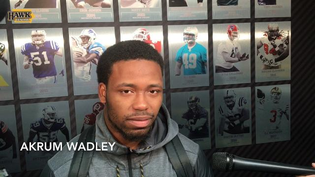 Akrum Wadley on two-game skid: 'No comment'