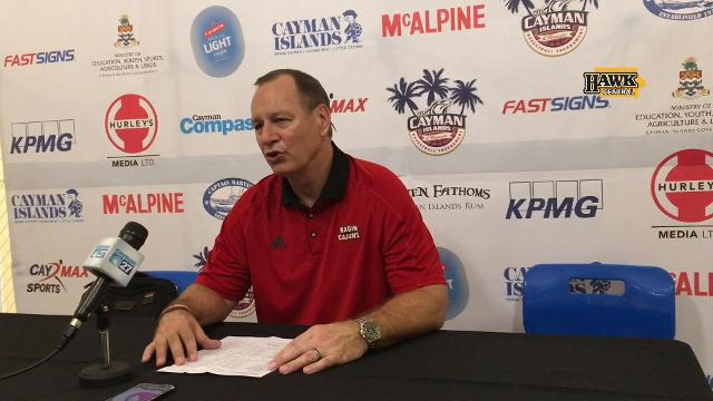 Coach Bob Marlin says it was about the old adage: 'Low man wins'