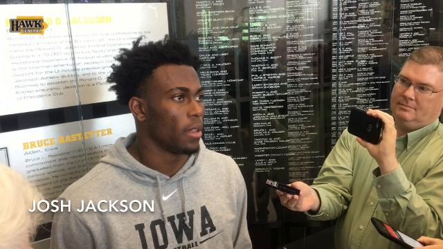 Josh Jackson discusses potential NFL future