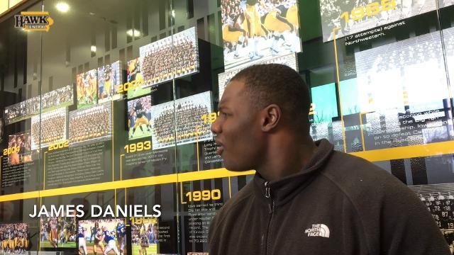 James Daniels addresses Iowa's sack problem vs. Purdue