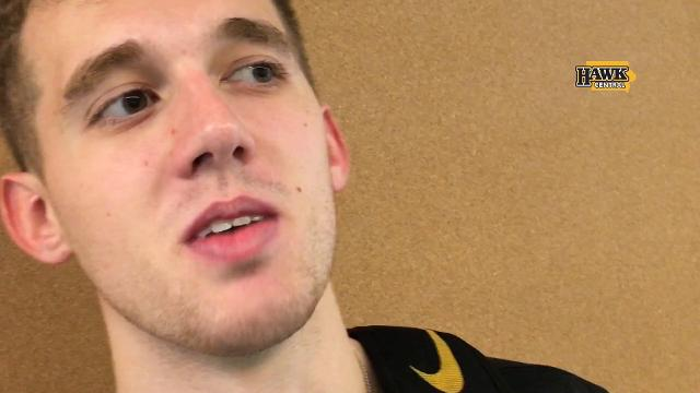 "Iowa's point guard explains what was on his mind when he advised everyone to ""relax."""