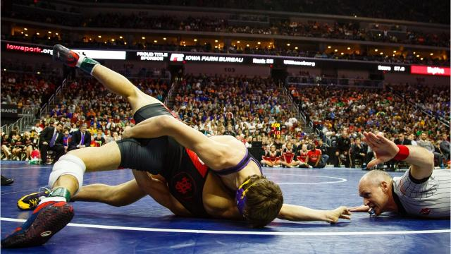 Introducing the eight best high school wrestling talents in the state of Iowa for the 2017-18 wrestling season.