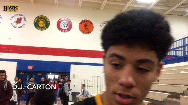 Iowa PG target D.J. Carton updates us on his recruitment, says Patrick McCaffery is working hard to make him a Hawkeye.