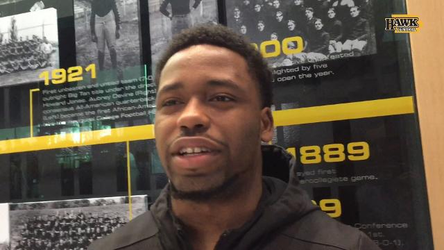 Akrum Wadley heading home for Iowa's bowl game