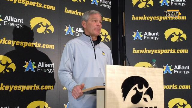 Kirk Ferentz talks NYC, bowl prep and catching Hayden