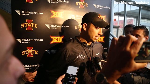 Iowa State football coach Matt Campbell says he's fired up and excited for the Cyclones to play in the Liberty Bowl.
