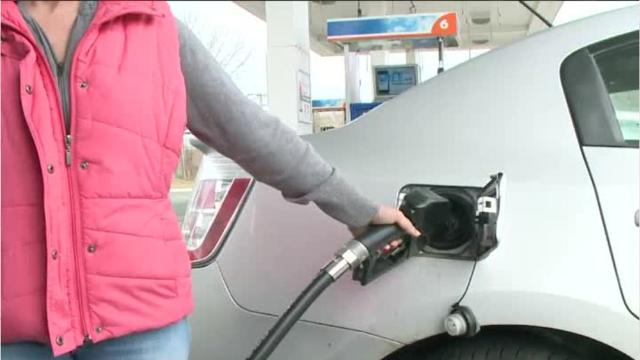 Gas prices are forecast to gradually decline over the next two months, but are higher than they have been in recent years.