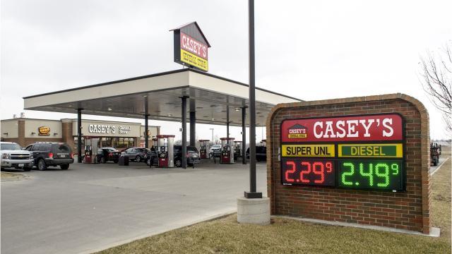 Take a look at some fast facts on Iowa-based Casey's General Stores.